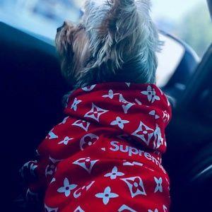 e61a8664e2de Supreme Accessories - Supreme box dog puppy hoodie